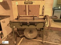Strapex Solomax-HS Strapping Machine, 240volts (LOCATION: Wakefield) (please note there is a lift