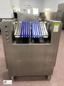 Weber CTR Transfer Conveyor, width 450mm, year 2003, serial number 2063 (please note there is a lift