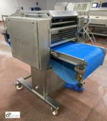 Uni Food Technic A/S V1558 twin lane Salmon Skinner, year 2007, serial number 2007-293, machine