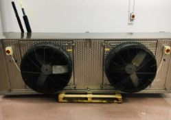 Goedhart LLK.P twin fan Chiller Unit (please note there is a lift out fee of £20 plus VAT on this