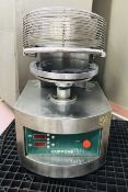 Cuppone PZF/35DS-A5-CP Heated Pizza Dough Press, year 2012 (please note there is a lift out fee