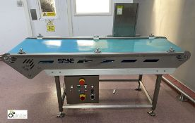 Styne powered Belt Conveyor, belt width 510mm, belt length 1980mm, 415volts (please note there is