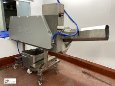 Baader Island IS-693 high speed Fish Descaler used for salmon, year 2019, serial number 49-693-01 (