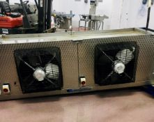 Coolers and Condensers Ltd twin fan Chiller Unit (please note there is a lift out fee of £20 plus