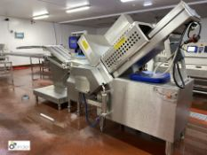 Weber type CCS402 Meat Slicing Line, 400volts, year 2006, serial number 518, with touch control