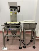 Ishida DACS-W-012-SB/SS-I-N Checkweigher, to 1200g, belt width 220mm, year 2011, serial number