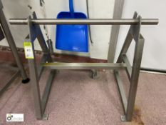 Stainless steel Roll Stand, 670mm roll width (please note there is a lift out fee of £5 plus VAT