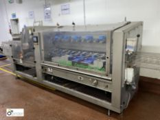 Kliklok Centriwap C150 Cartoning Machine - this machine has been used for collating and sleeving/