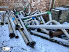 Quantity various Pipework, 4in diameter (LOCATION: Boston Spa)