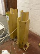 4 pallet racking Post Protectors (LOCATION: Boston Spa)