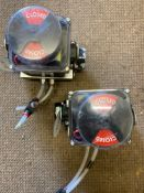 2 Actreg pneumatic Actuators (LOCATION: Boston Spa