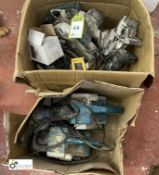 2 boxes various Power Tools (spares or repairs) (LOCATION: Boston Spa)