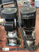 2 Grundfos Pumps CR13-5A-CA-I-V-HQQV (LOCATION: Boston Spa)
