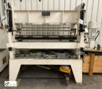 Schnutz RME 6/40/11-1500 O.A. Plate Levelling Mach