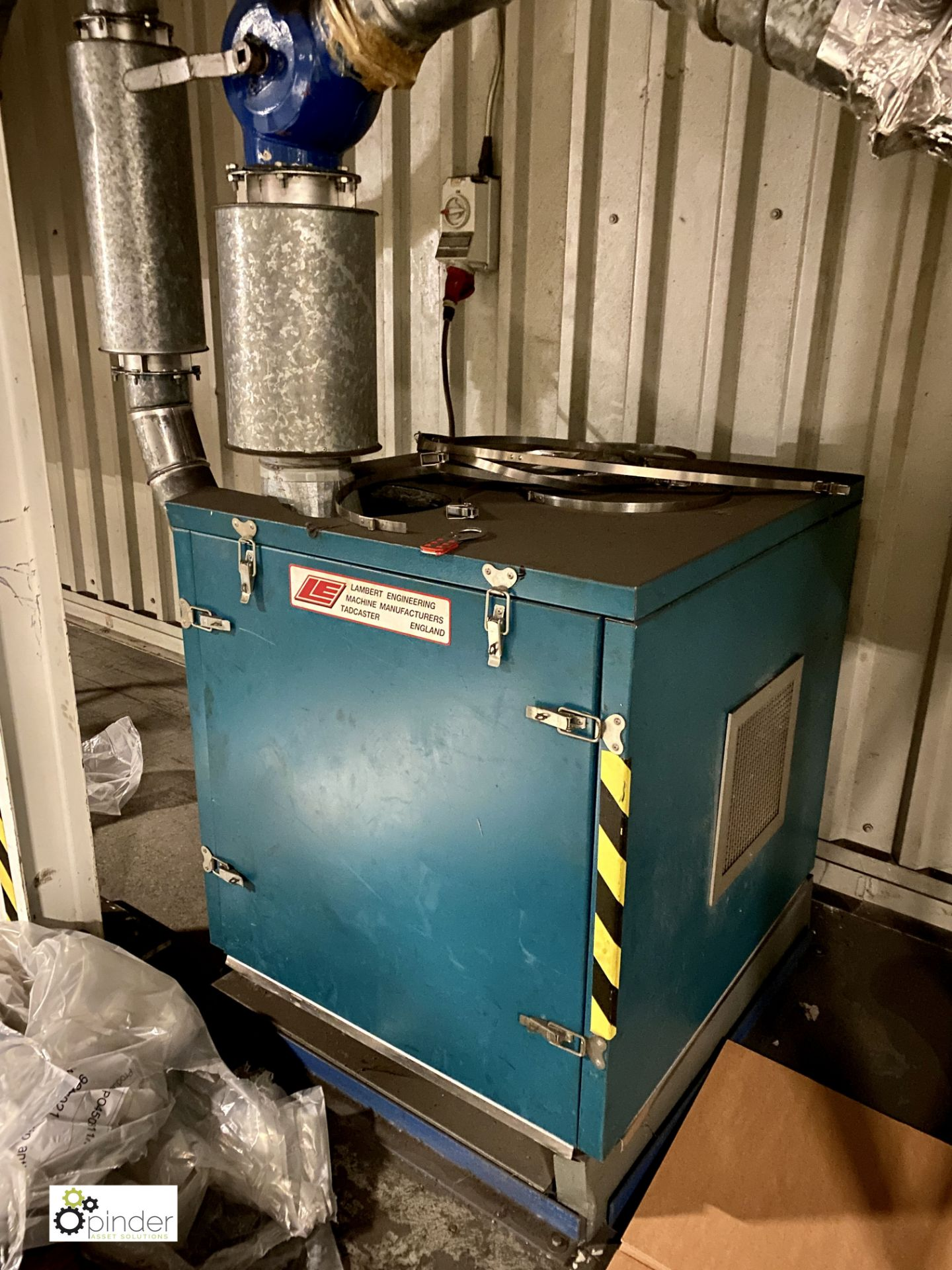 Lambert Engineering Dust Extraction System compris - Image 3 of 7