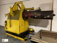 Coiler, 1600mm long, with Milshaw hydraulic power