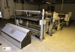 Lambert Engineering 1600mm Slitting Line, comprisi