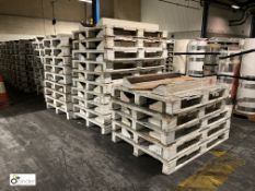 36 wooden Coil Pallets, 1600mm (please note there