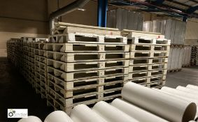 46 wooden Coil Pallets, 1700mm (please note there