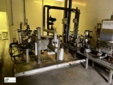 Waste Emulsion Treatment Plant, comprising pumps,