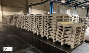 44 wooden Coil Pallets, 1800mm (please note there