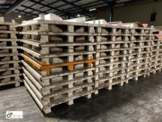 12 steel/wood Coil Pallets, 1480mm (please note th