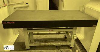 Crown Windley granite Surface Table, serial number