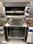 Lincat gas fired Salamander, with stainless steel table, 900mm x 250mm x 910mm (located in Kitchen)