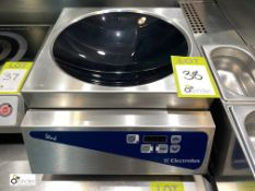 Electrolux Libero DW/H1 Induction Wok Hob, 240volts (located in Restaurant)