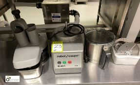Robot Coupe RU01 Commercial Food Processor, 4.5litres, 240volts, with various attachments, etc (