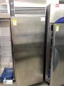 Foster EP700H stainless steel single door Fridge (located in Kitchen)