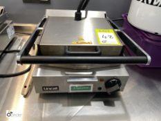 Lincat Panini Press, 240volts (located in Restaurant)