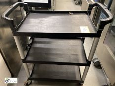 Cambro 3-tier Trolley (located in Kitchen)