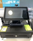 Sympos touch screen Till, with cash drawer (located in Restaurant)