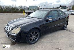 Mercedes C200 CDI SE Coupe, registration: FV53 VGU, date of registration: 20 January 2004, odometer: