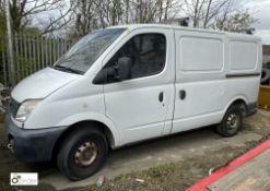 LDV Maxus 2.5 Panel Van, registration: YX55 ANF, date of registration: 13 September 2005,