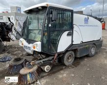 Johnston 142A 101T Road Sweeper, 8056hours, serial number 2000/52729/0405, non-runner (location: