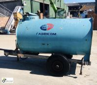 Mainway single axle Bowser, 1000litres, year 1999,