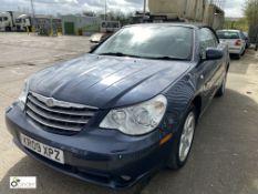 Chrysler Sebring 2.0 CRD Limited 2-door Convertible, registration: KR09 XPZ, date of registration: