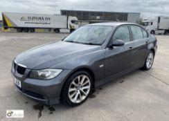 BMW 320d 4-door Saloon, registration: AB08 JER, date of registration: 14 August 2008, odometer:
