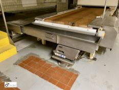 Take Off System comprising key vibratory feed, Cablevey 430 Series tubular drag conveyor, bag