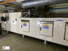 Spooner 3-compartment Conveyor Oven, variable temperature and speed, 1500mm belt width, serial