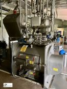 Complete Granola/Cereal Bar Production Line comprising Dry/Wet Mixing System comprising Kemutec