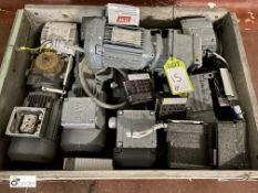 6 Geared Motors, to pallet (please note there is a lift out fee of £10 on this lot)