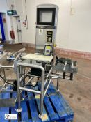 Yamato CSG20L-FOP Checkweigher, weighing range 20g-1000g, scale interval 0.1g, speed 100pcs/min,