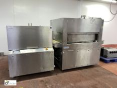 Supervac GK842B Belt Vacuum Chamber Packaging Machine, year 2009, serial number 209009, 400volts,