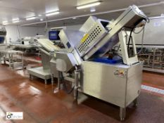 Weber type CCS402 Meat Slicing Line, 400volts, year 2006, serial number 517, with touch control