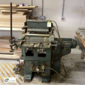 Brookman 15RPM Dovetailer, 15-head, serial number 850, 415volts
