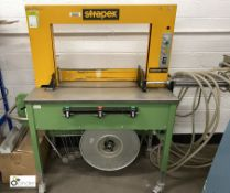 Strapex Solomat-HS semi auto Carton Strapper, 240volts (please note there is a lift out fee of £10
