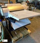 Glunz & Jensen iCtp Plate Writer 2400, with ink spares, etc (please note there is a lift out fee